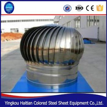 Ventilator Roof Fan Without Power Industrial Mushroom Wind