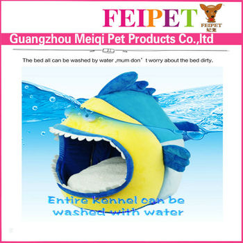 funny shark shape cozy cave dog bed for chihuahua small dog wholesale dog bed - Cozy Cave Dog Bed