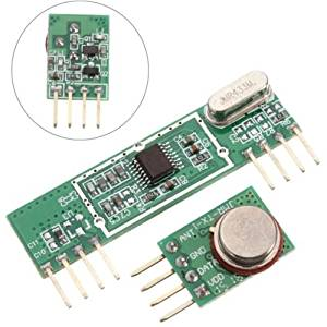 433Mhz Superheterodyne 3400RF Transmitter and Receiver Kit For Arduino ARM MCU