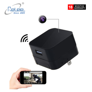 New Wifi Full HD 1080P Spy Hidden Camera Motion Detection USB Wall Charger Camera