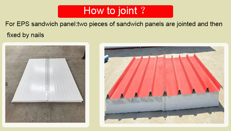 low cost eps sandwich isolated wall panels for building project