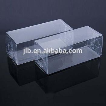 Aangepaste verpakking dunne rechthoekige heldere klein for Plastic doosjes
