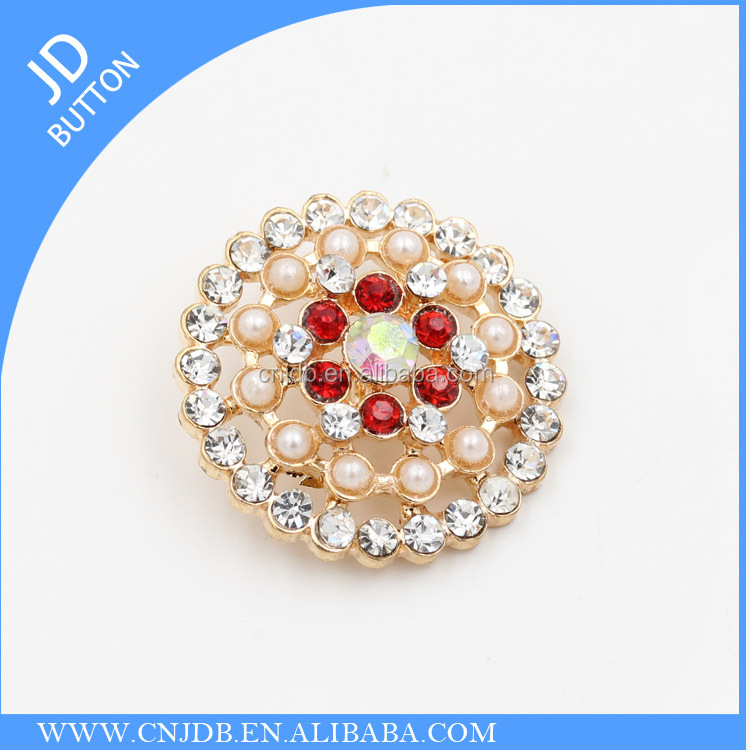 big size fashion rhinestone buttons for overcoats