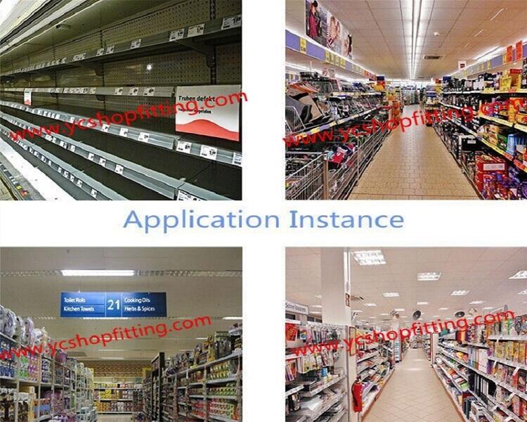 Multifunction Metal Wire Rack Display Market Shelves Style Shop Shelf