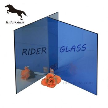 Euro Bronze Blue Glass One Side Tinted Reflective Glass