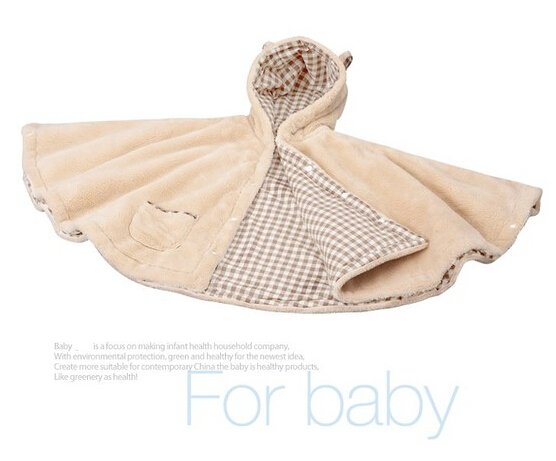 Get Quotations · 2014 baby blanket Infant hoodie Swaddle Swaddling fleece sleeping  bag cart stroller sack Newborn autumn winter 421f6096b