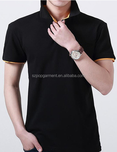 OEM custom business men's polo shirts uniform polo shirt wholesale in china