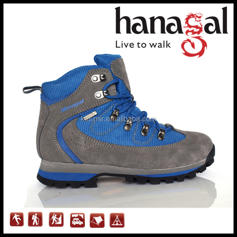 Factory Wholesale King-tex Waterproof Outdoor Womens Hiking Boots / Hiking Shoes for Women