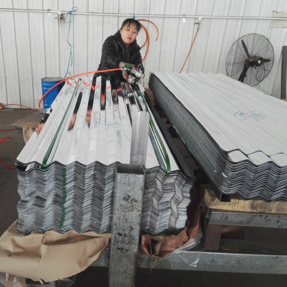 price for galvanized roofing sheets /roof cover corrugated steel plate