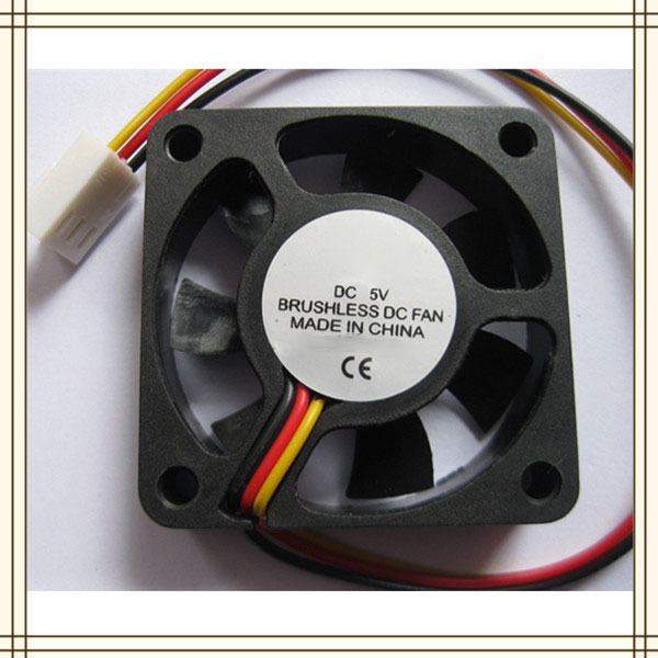 Cooling Fan 50X50X10 12V DC 0.14A 3-Wires With Ball Bearing 5010 50* : dc brushless fan wiring - yogabreezes.com
