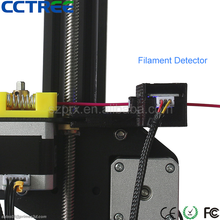 daul z axis, filament detector, mini DIY Creality CR-10S 3d printer