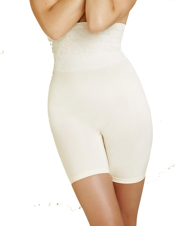 Body Wrap Shapewear Ivory The Catwalk High-Waist Long Leg Panty 49590