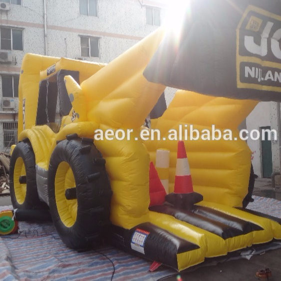 new product cheap digger inflatable bouncer for sale, chongqi inflatables digger jumping castle