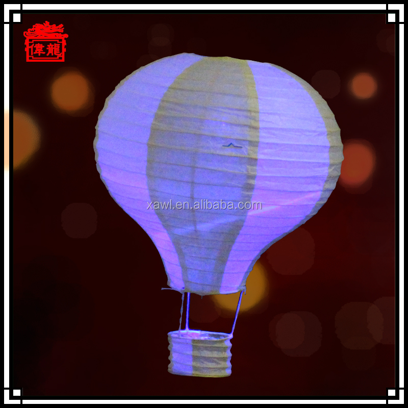Christmas Decorative Chinese Hot Air Balloon Paper Lantern Crafts JLS04-5