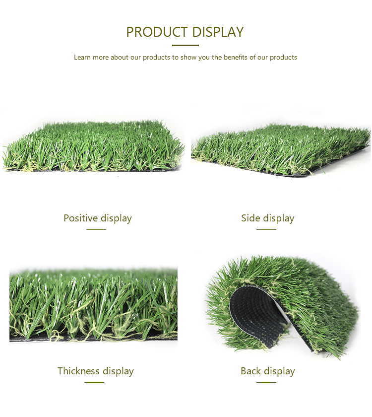 High quality artificial turf grass synthetic lawn for football stadium outdoor football pitch