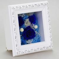Photo frame glass eternal flower new creative gift wedding to send friends love flowers ornaments