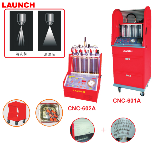CNC602A Injector Cleaner & Tester macchina