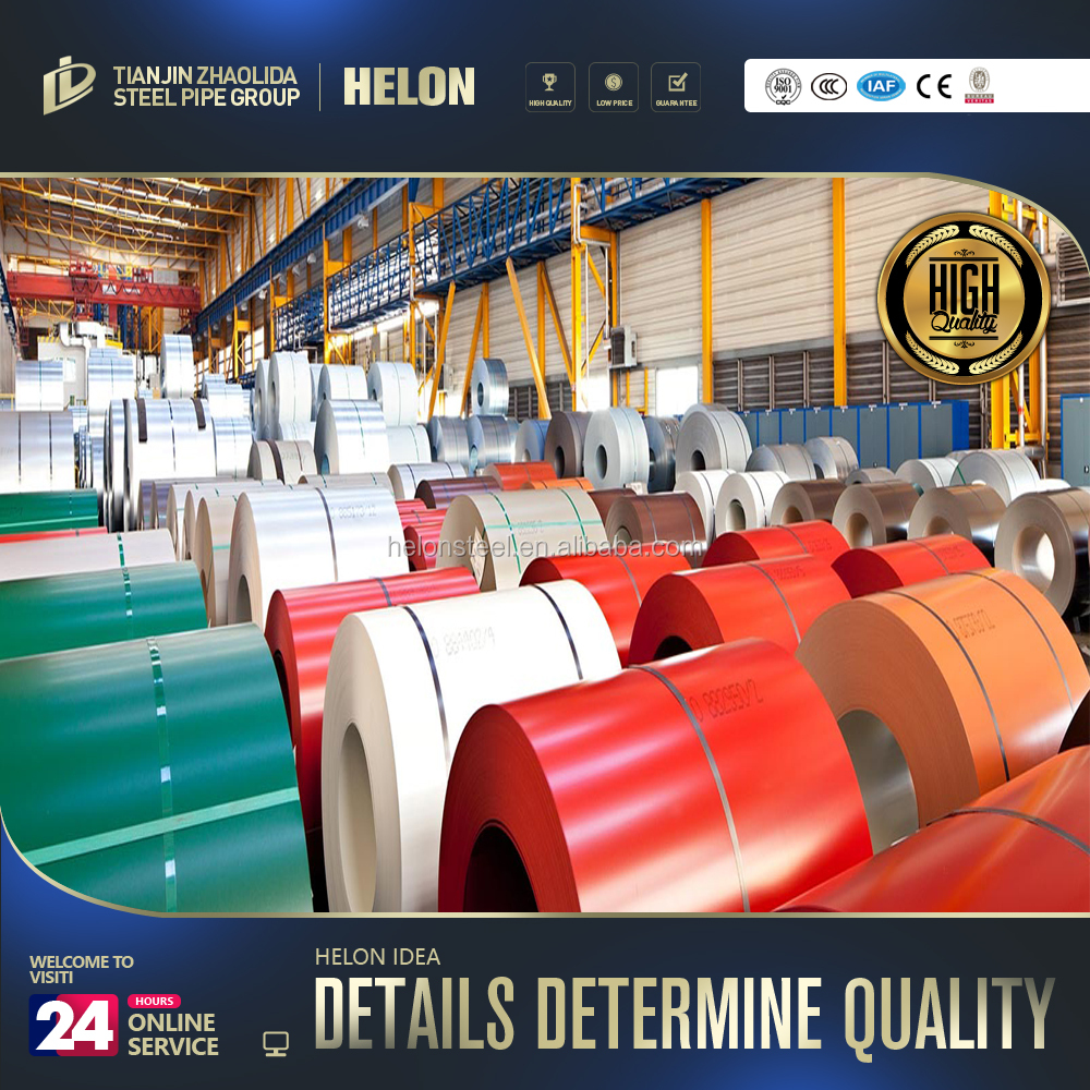 PPGI prepainted galvanized steel coil PPGI steel with Akzo Noble paint