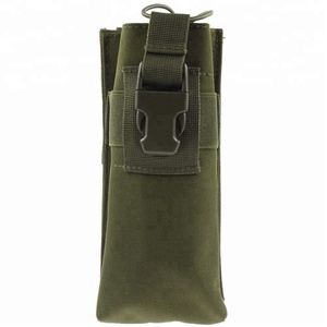 Hot sale Waterproof Tactical Hunting 600D Molle Radio Pouch Bag
