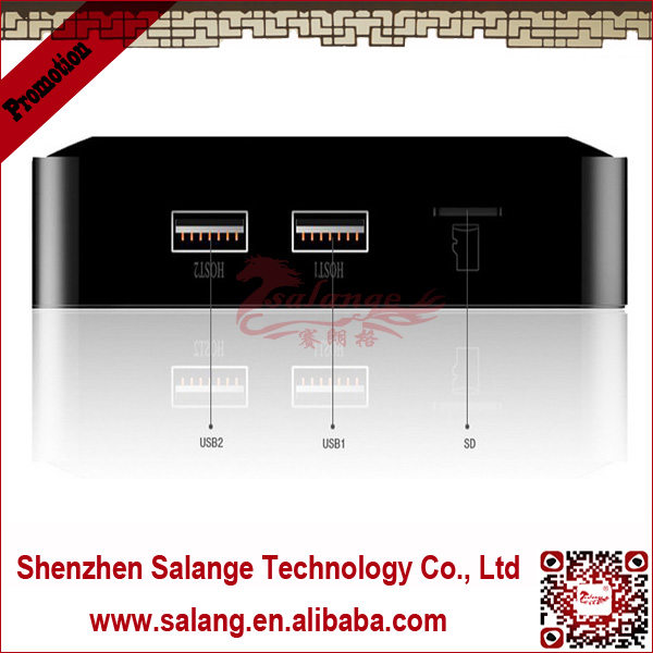 New 2014 made in China AMLogic Dual Core satellite receiver android smart <strong>tv</strong> <strong>box</strong> by salange