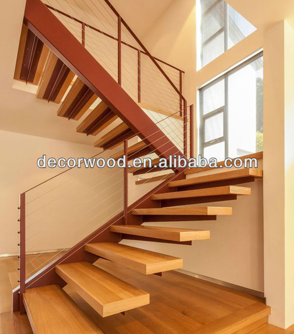 Wooden Open Risers Staircases View Decorwood Product Details From Guangzhou Nuolande Import And Export Co Ltd On Alibaba
