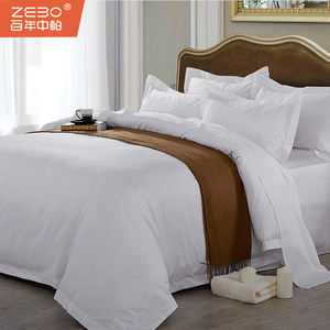 60*80 S professional custom 5 star hotel bed linen hotel bedding set