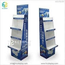 HIC cartone display advertising stand, Supporto Da Pavimento <span class=keywords><strong>tappeto</strong></span> display rack