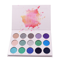 Eye Shadow 15 Warna Palet <span class=keywords><strong>Kosmetik</strong></span> <span class=keywords><strong>Produk</strong></span> Private Label Eyeshadow Palet