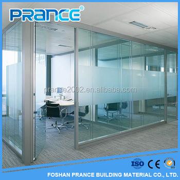 Usato Uffici In Alluminio Vetro Smerigliato Partizioni Prezzi Buy