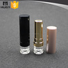 wholesale gold body round empty plastic lipstick container