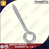 High Quality Stainless Steel Lag Eye Bolt Screw For Wood