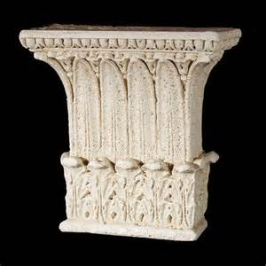 The most durable stone pillar tops