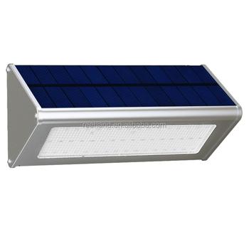 48 LED Solar Lights Outdoor Radar Motion Sensor Light Wireless Waterproof  Stainless Aluminum Alloy Housing Lights