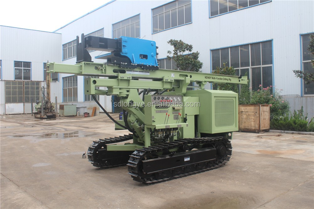 MZ460Y Multifunction Ramming Pile Driver,China LongYe brand !