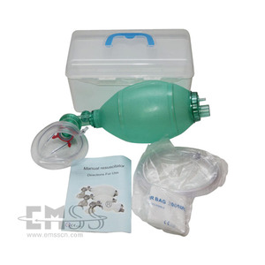 Medical equipment EJF-011 PVC manual resuscitator for sale