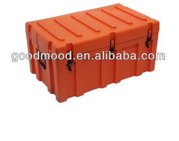 Rotomolded PE material lock and handles Storage trunk
