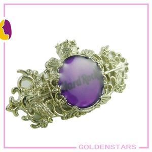 fashion silver brooch saree pin