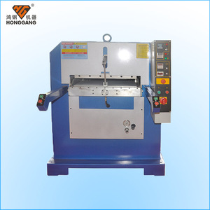 High quality hydraulic genuine leather belt embossing machine