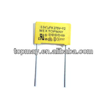 Film Capacitor with 5 and 10% Capacity Volume Variance