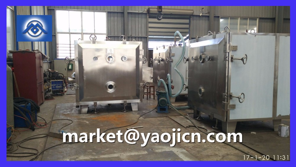 Foodstuff used Vacuum dryer for drying pulm