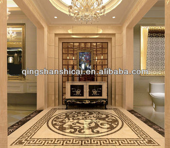 Flooring Water Jet Cutting Marble Design Medallion Floor