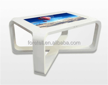 foretell 55 inch touch screen coffee table for restaurant tearoom