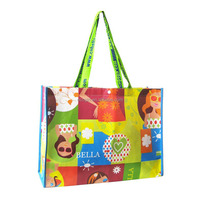 facotry offer reusable promotional gift tote carry away modern fashionable grocery shopping non-woven bag