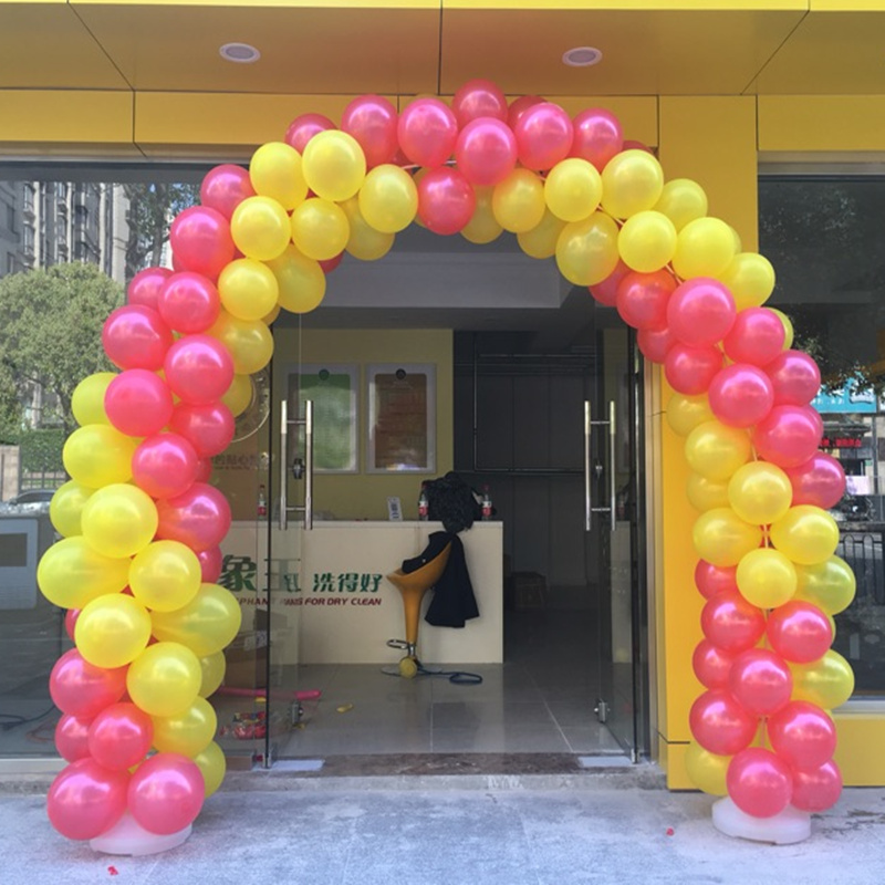 self inflating mylar balloons arch stand for party decoration