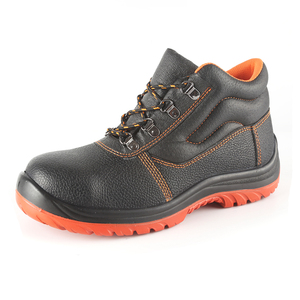 7e4db8be 2018 Best Selling OEM Brand Leather Safety Shoes Wholesale Man Construction  Boots With Steel Toe Cap