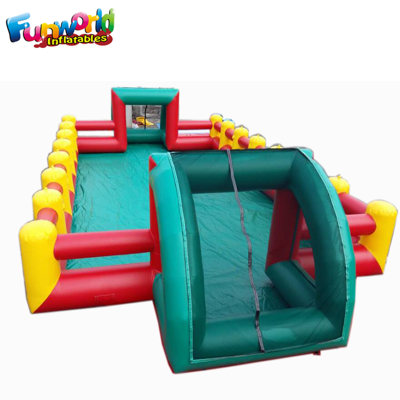 Fun popular <strong>inflatable</strong> sports games Soccer Field Football pitch <strong>inflatable</strong>