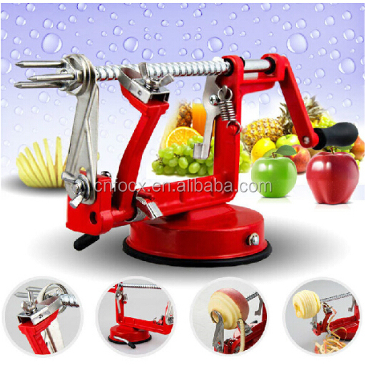 3 In 1 apple peeler corer / manual apple peeler corer slicer / Fruit Cutter Slicer