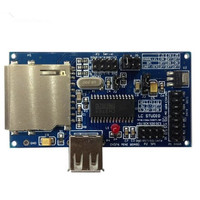 Mouse and keyboard CH376S usb SD card module supports parallel serial SPI interface