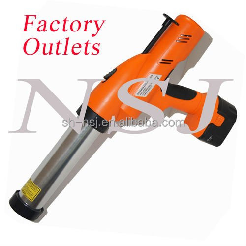12V electric caulking gun for silicone sealant in sausage