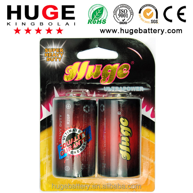 1.5V high quality AA,AAA,C,D 9V Carbon Zinc Battery
